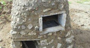 天然村の石窯