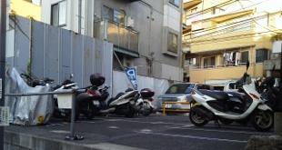 六本木バイク駐車場
